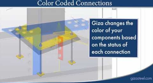 Connection Design with GIZA Software and Tekla Structures