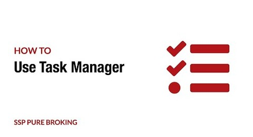 How to use Task Manager for work allocation