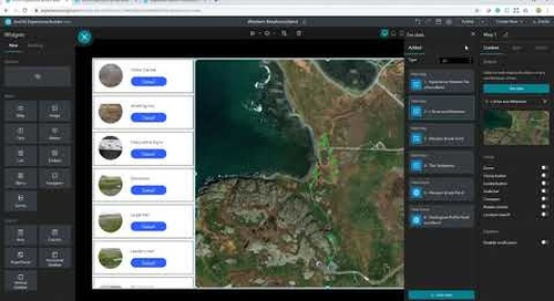 Get to Know ArcGIS Experience Builder: Build an Experience from Scratch