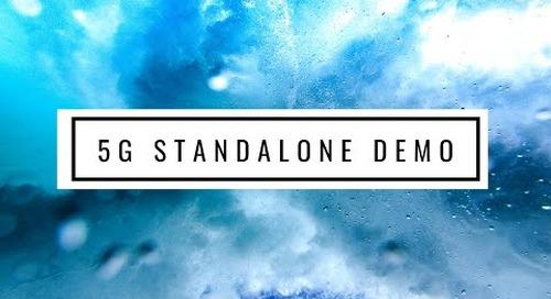 Radisys 5G Standalone Demo at MWC2019