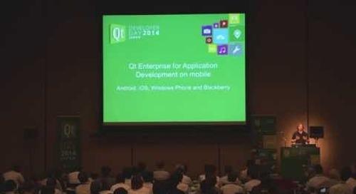 2014 Qt Developer Day Japan:「Qt のあゆみ:我々の今とテクノロジーの向かう先」