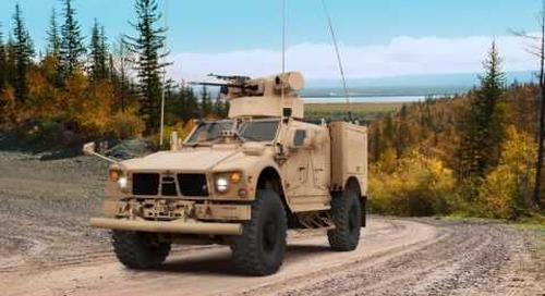 "AUSA 2016: Oshkosh M-ATV ""Assault"" variant"