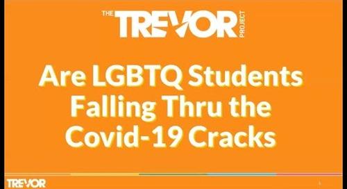 Are LGBTQ+ Students Falling Thru The COVID 19 Response Cracks