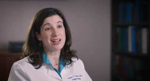 What is pelvic organ prolapse and how is it treated?