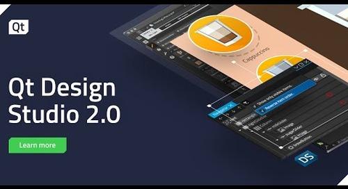 Qt Design Studio 2.0 Release - Feature Overview