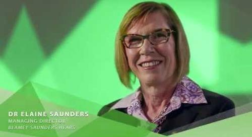 2016 Clunies Ross Entrepreneur of the Year Award - Dr Elaine Saunders