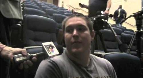Oct. 15, 2014 — Nick Martin previews Notre Dame's upcoming tilt against No. 2 Florida State