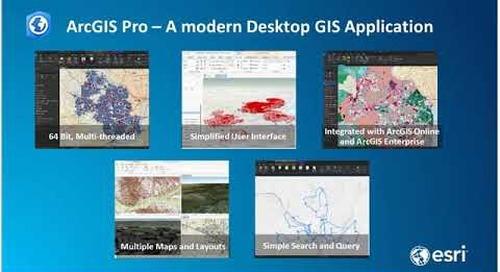 New Intelligence Configuration for ArcGIS Pro ICAP Desktop