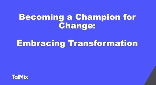 Becoming a champion for change: Embracing transformation to defeat organisational failure