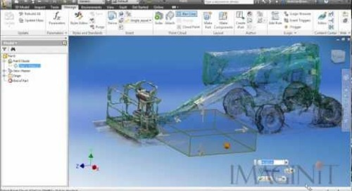 Using Point Clouds as Factory Assets