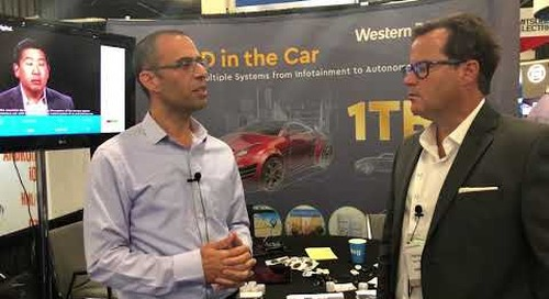Western Digital at TU Automotive 2018