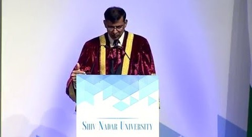 Dr. Raghuram Rajan's address at Shiv Nadar University Convocation, May 7, 2016 (Part 2)