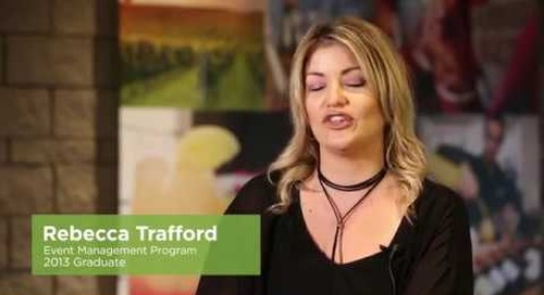 Rebecca Trafford - 50 years of Algonquin College stories