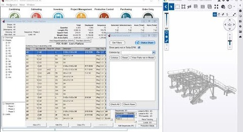 Share Status in Real Time using Trimble Connect and Tekla EPM