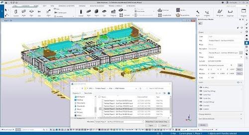 Tekla Structures 2021 - Navisworks and Revit Import as Reference Models