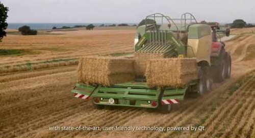 Built with Qt: ISOBUS/CCI Smart Farming with KDAB