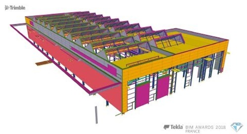 Tekla France BIM Awards 2018 - CANCE : REGIO2N