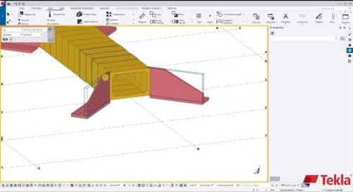 Utility Precast with Tekla Structures – Video 2 (Detailing & Components)