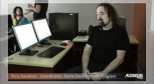 Professor Testimonial - Game Development Program