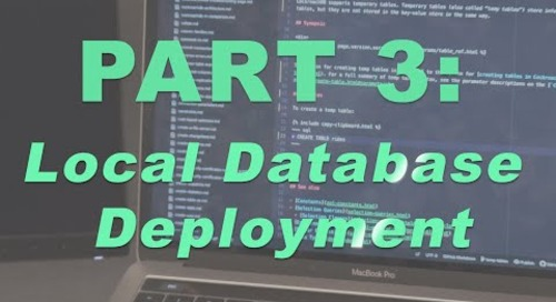 How to Build a Multi Region App - Part 3, Local Database Deployment