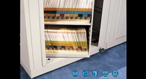 Rotary 2 Sided Spinning Carousel File Cabinet - Info@SouthwestSolutions.com