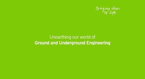 Unearthing our world of Ground and Underground Engineering