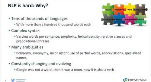 Natural Language Processing Exposed: The Art, the Science and the Applications