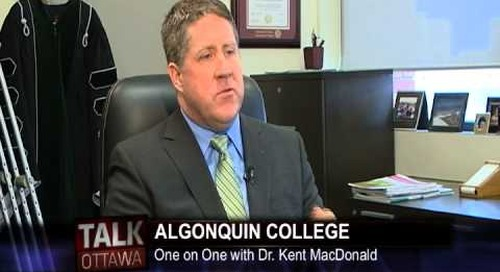 Talk Ottawa interviews AC President Dr. Kent MacDonald - Part 1