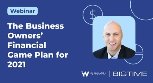 The Business Owners' Financial Game Plan for 2021