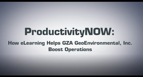GZA GeoEnvironmental, Inc. Boosts Skill with ProductivityNOW