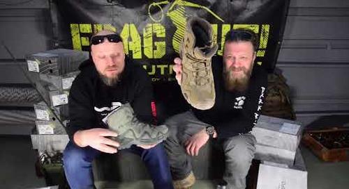 Frag.TV: Buty taktyczne LOWA Task Force Zephyr