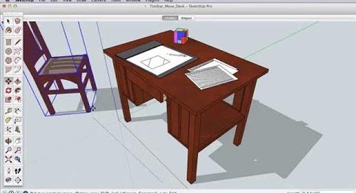 SketchUp Toolbar Series: Move