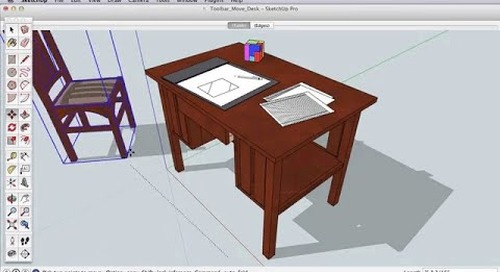 SketchUp Toolbar Series: Move