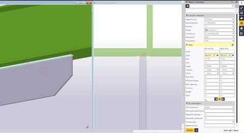 Weld Improvements in Tekla Structures