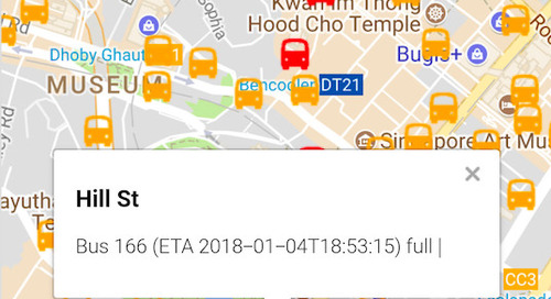 Public transport APIs: Singapore's smart city example
