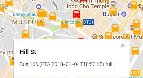Public transport APIs: Singapore's smart city example