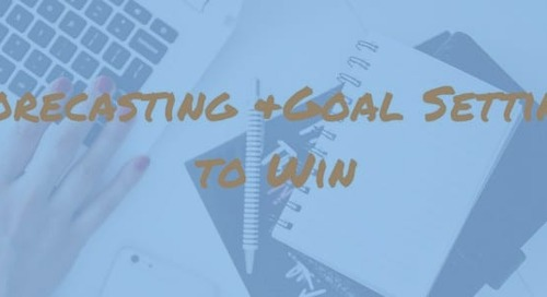 Forecast and Set Goals to Win: The Ultimate 2019 Business Plan