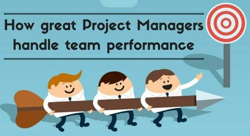 How great Project Managers handle team performance