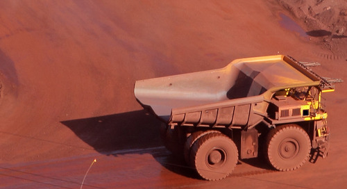 Autonomous mining trucks collide at Jimblebar
