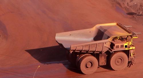 Autonomous mining trucks collide at Jimblebar