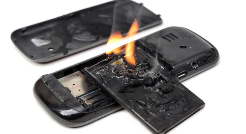 Hazards from lithium batteries | Wearables and small devices warning