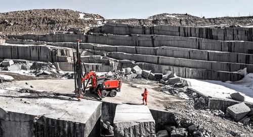 Sandvik mining releases surface hammer drill rig