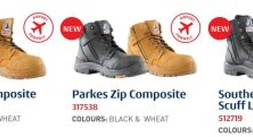 Steel Blue launches three new work boots