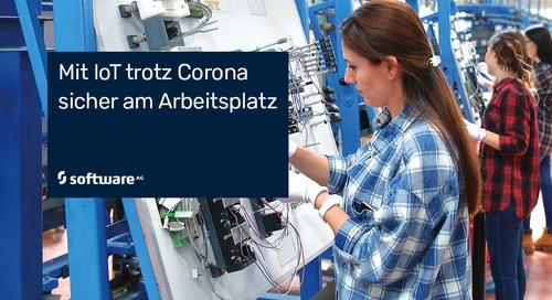 Corona-Krise: Social Distancing am Arbeitsplatz mit smarter IoT-Lösung