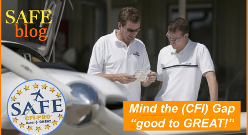 """Mind the (CFI) Gap!"" Go ""Good to GREAT!"""