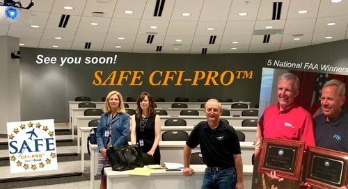 Thank-You! Super Stars at SAFE CFI-PRO™