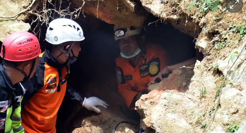 Rescuers end search for victims in Indonesian mine disaster