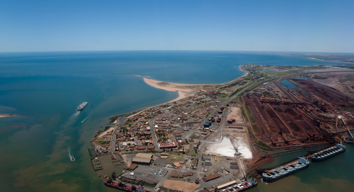 BHP Port Hedland on red alert