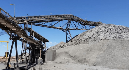 Fixed stacker conveyor collapses at site | Corrosion prevention