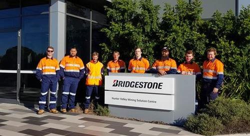 Bridgestone Mining Solutions establishes tyre fitting training